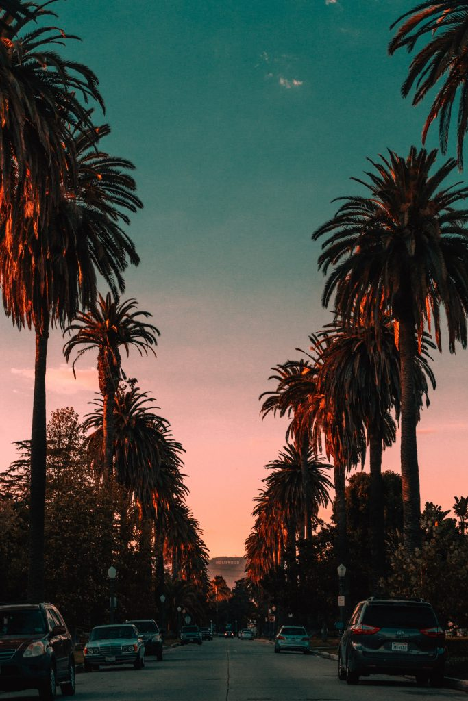 los angeles at night photo steven pahel unsplash