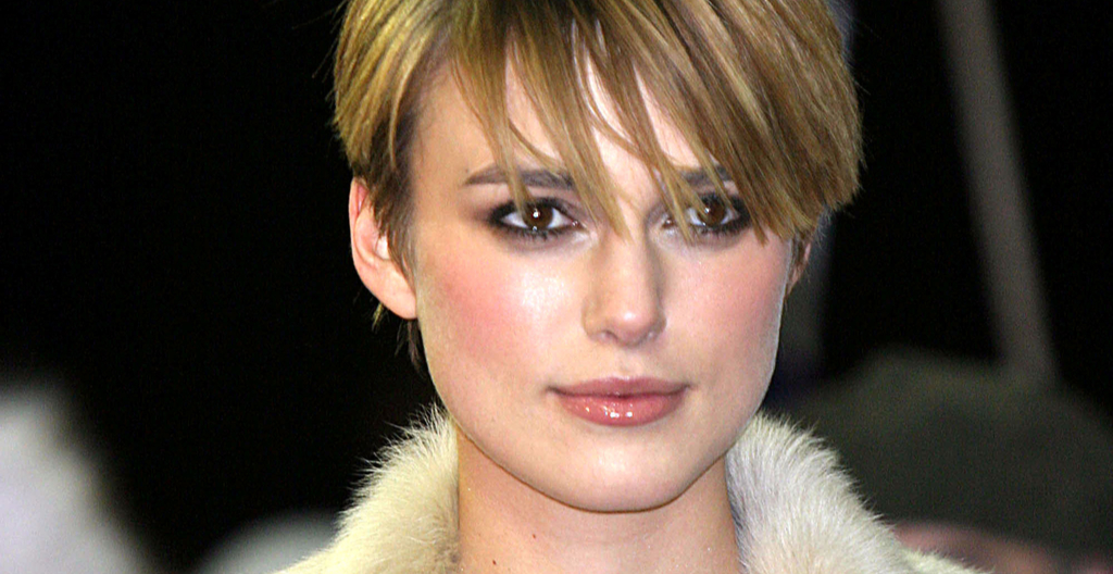 Keira Knightley pixie cut haircut sundance film festival