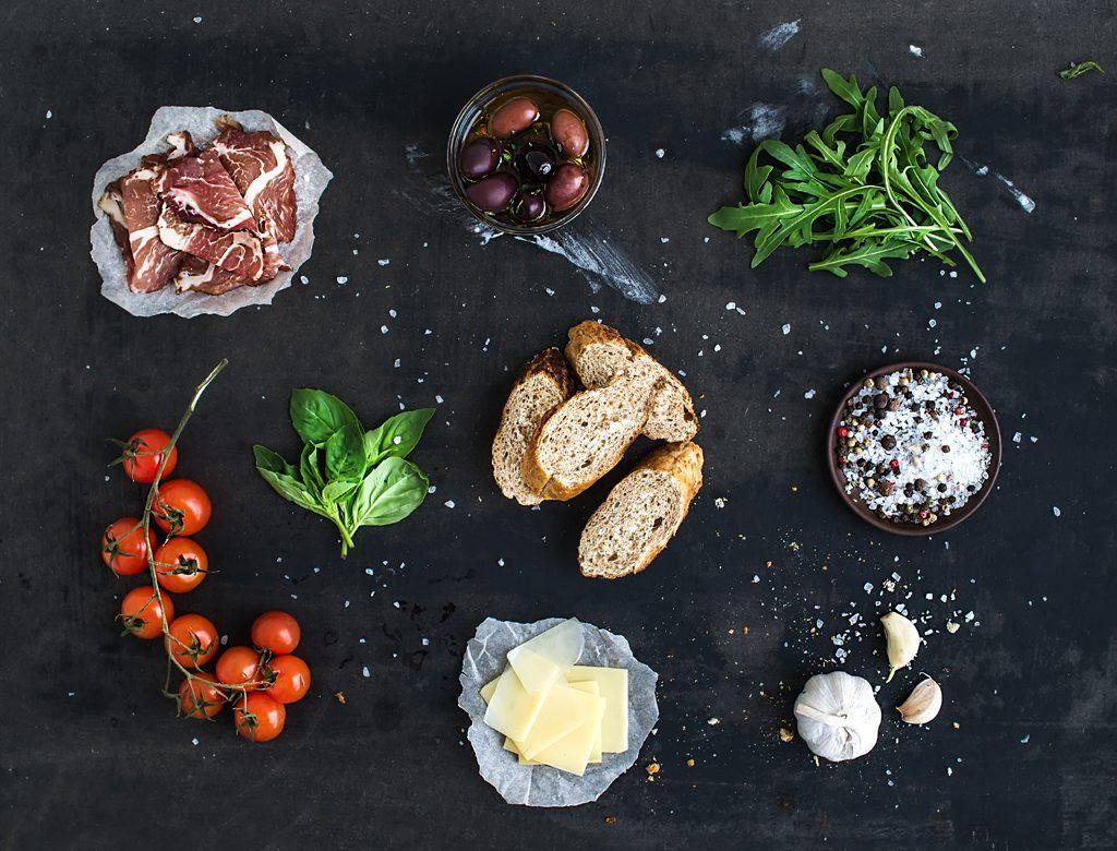self-care practices - fresh ingredients