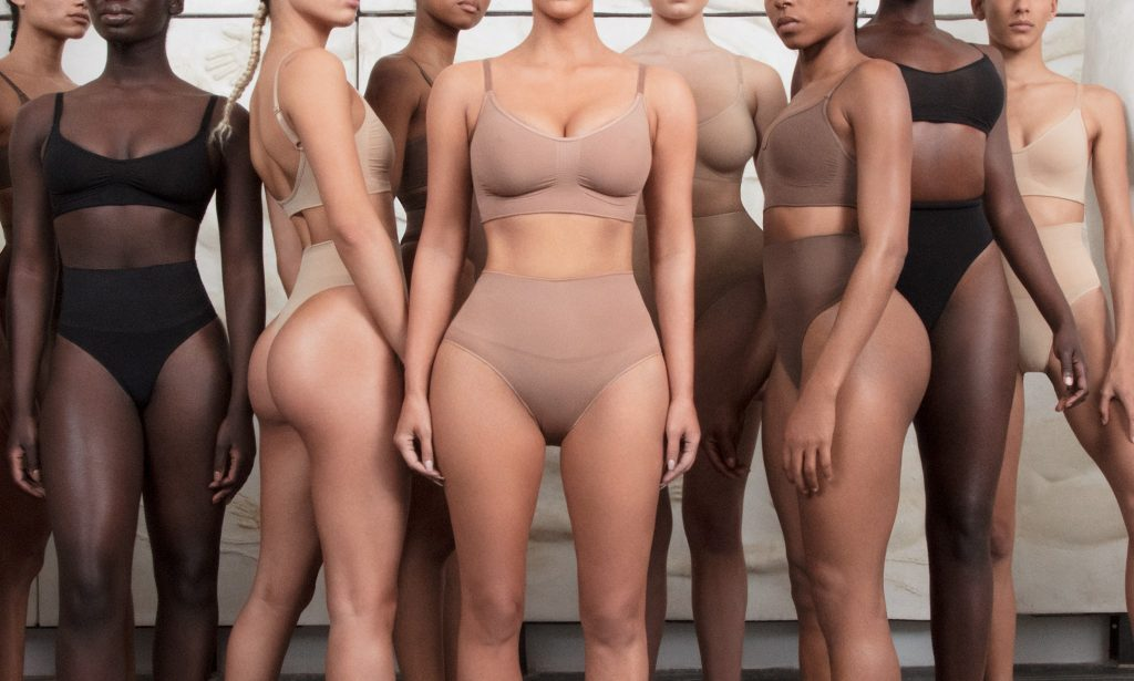 self-care practices - skims shapewear