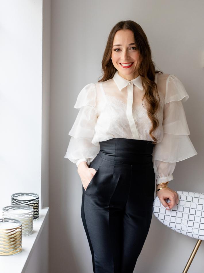 Arabella Bassadone, Founder & Creative Director of Maison Arabella (Photo by Mike Garrard/©Country Life Picture Library 2019)