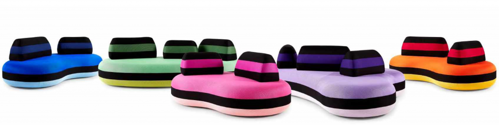 Bombom Sofas by Joana Vasconcelos for Roche Bobois