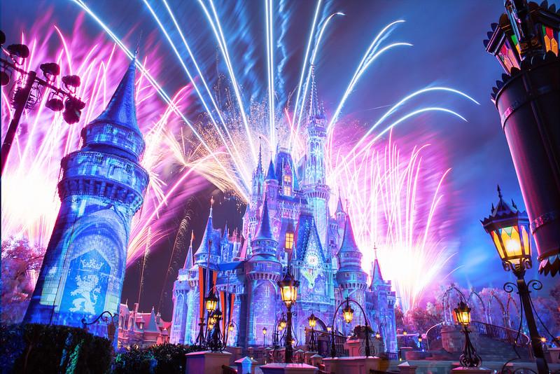 Kid-friendly family vacation destinations Magic Kingdom Disney World Orlando Florida. Photo by Anthony Quintano.