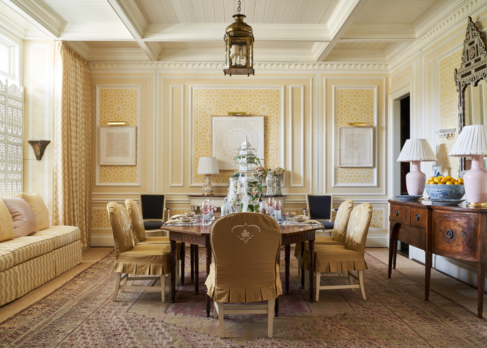 Dining Room by Cathy Kincaid Interiors kips bay decorator show house dallas 2020