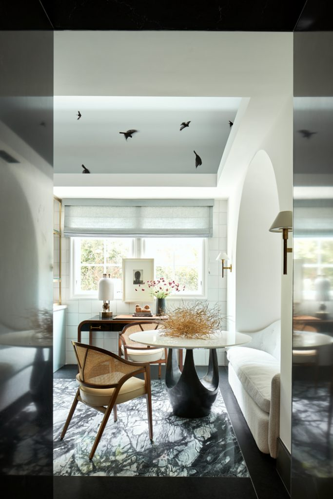 kitchen dining area by chad dorsey design