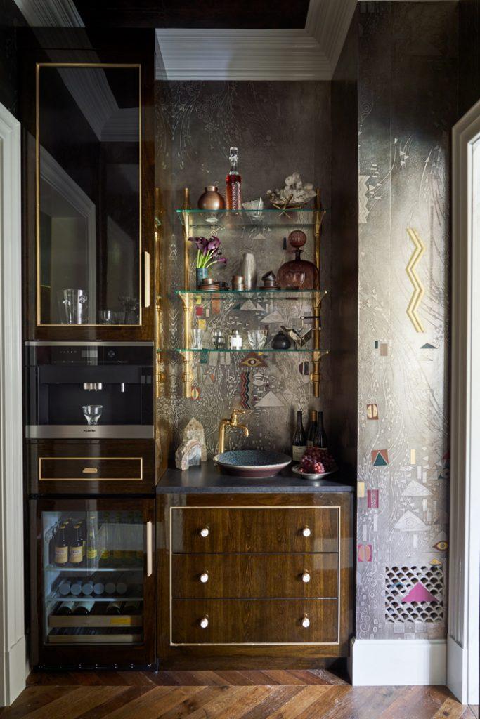 Master Bath & Closet bar by Doniphan Moore Interiors
