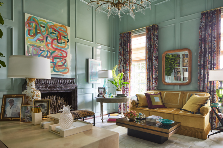 study design by jan showers kips bay show house dallas 2020