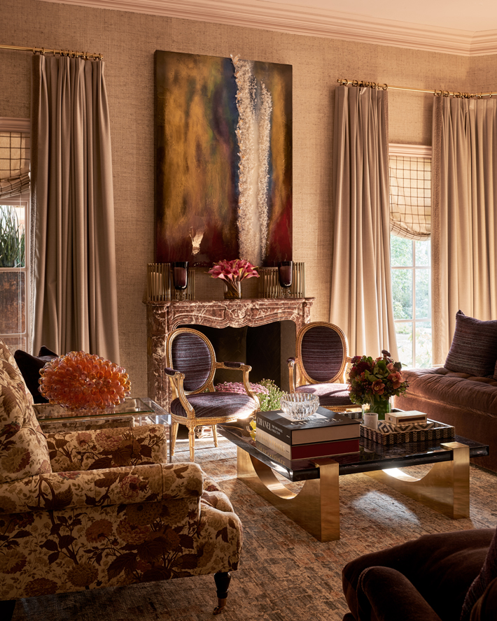 Master Bedroom sitting room by Kirsten Kelli, LLC.
