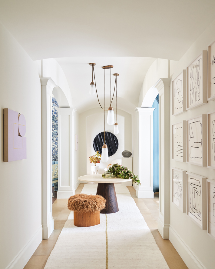 kips bay decorator show house dallas gallery hall design by rottet studio