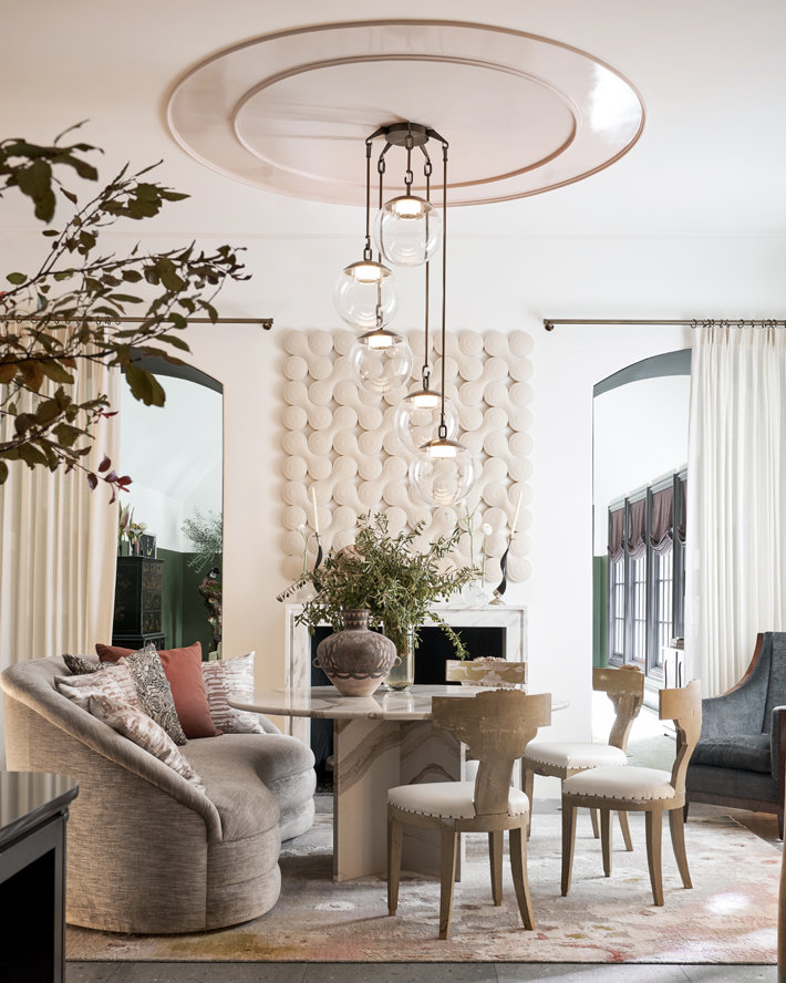 Breakfast Keeping Room by Marcus Mohon Interiors kips bay decorator show house dallas 2020