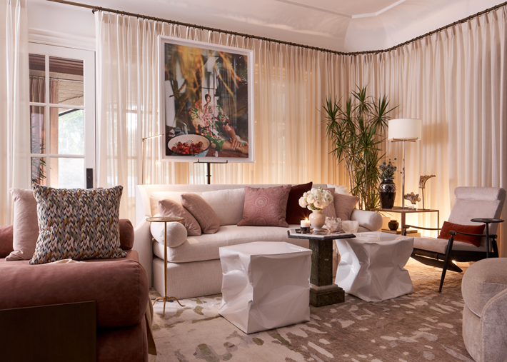 Breakfast Keeping Room by Marcus Mohon Interiors