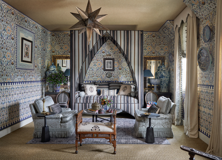 Daughter's Bedroom by Michelle Nussbaumer kips bay decorator show house dallas 2020