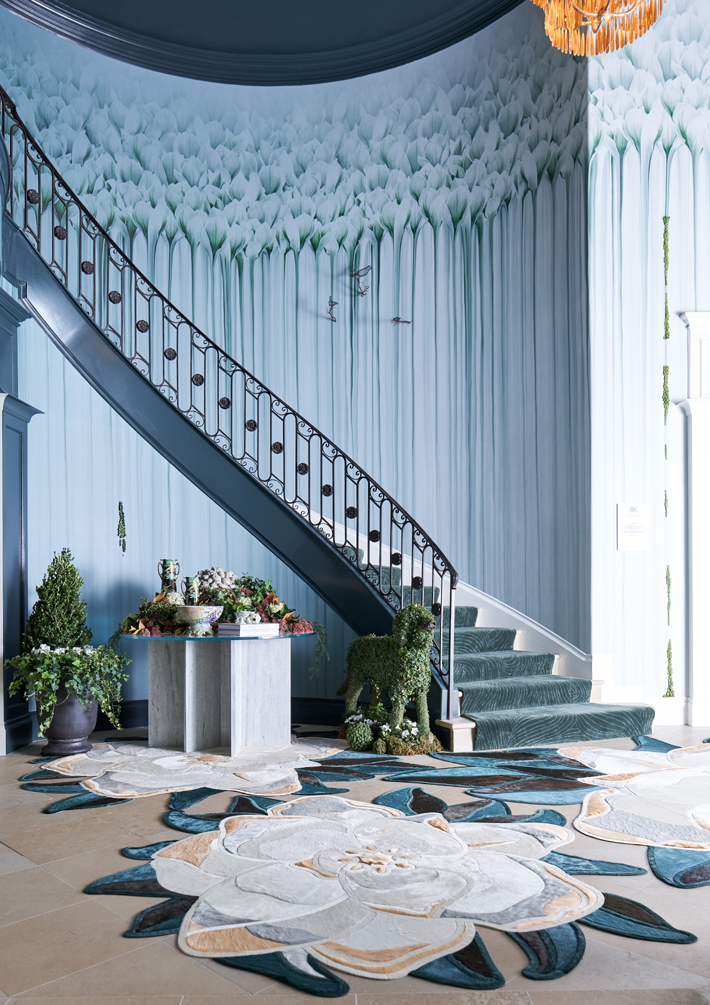 kips bay decorator show house dallas entry foyer design by rottet studio