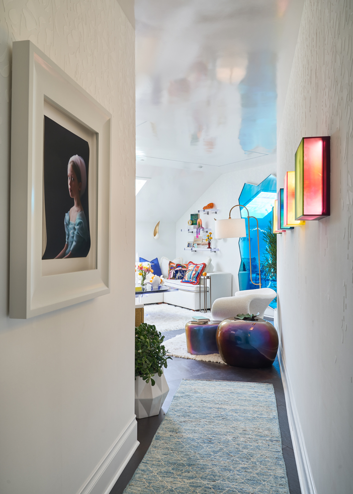 Loft by Sherry Hayslip Interiors kips bay decorator show house dallas 2020