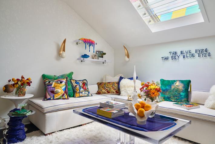 Loft by Sherry Hayslip Interiors