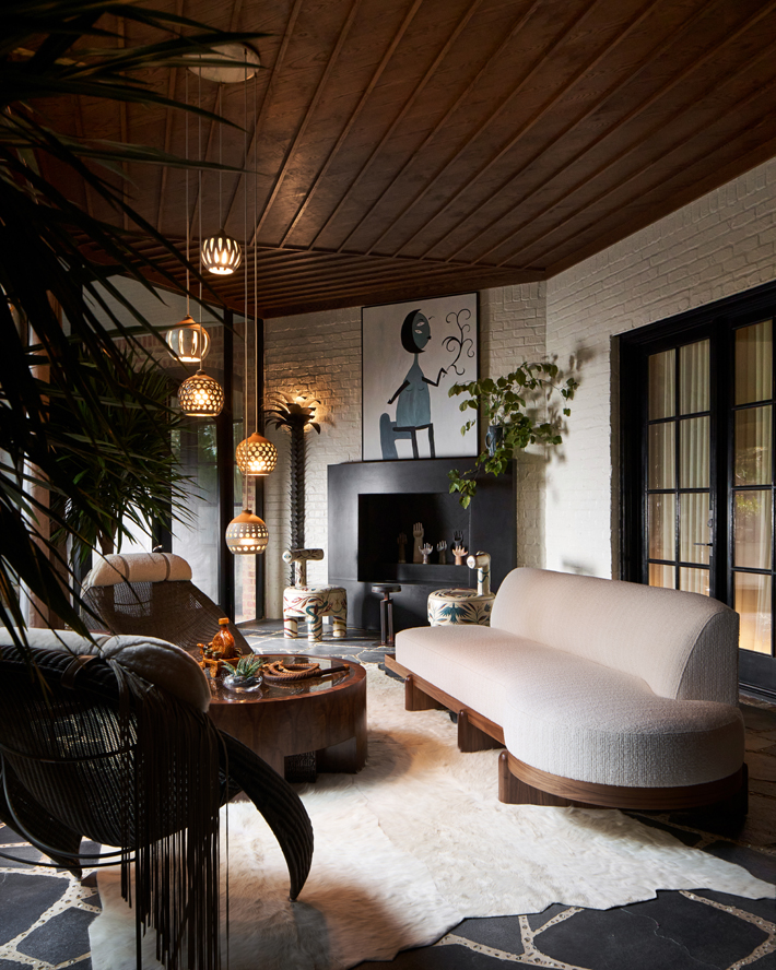 Screened Porch by Tracy Hardenburg Designs kips bay decorator show house dallas 2020