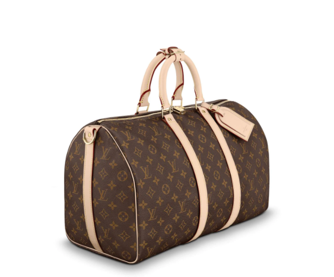 Keepall Bandouliere 45 in Monogram Canvas by Louis Vuitton