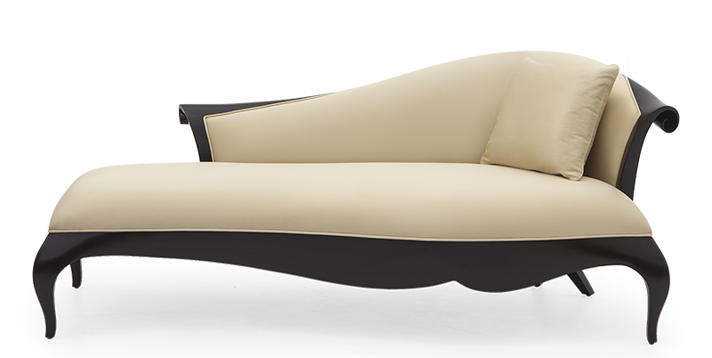 Christopher's choice; this chaise lounge marvel draws instant attention with contemporary flowing lines and timeless appeal.