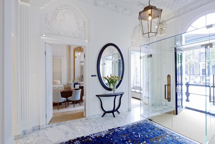 Waldorf Astoria Amsterdam lobby - most beautiful hotels most beautiful cities