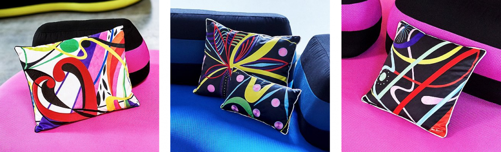 Bombom cushions by Joana Vasconcelos for Roche Bobois