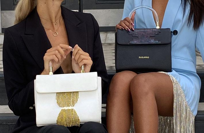 susurro handbags styled by mao