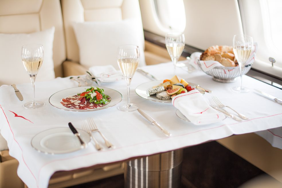 top private jet companies vista jet group dining