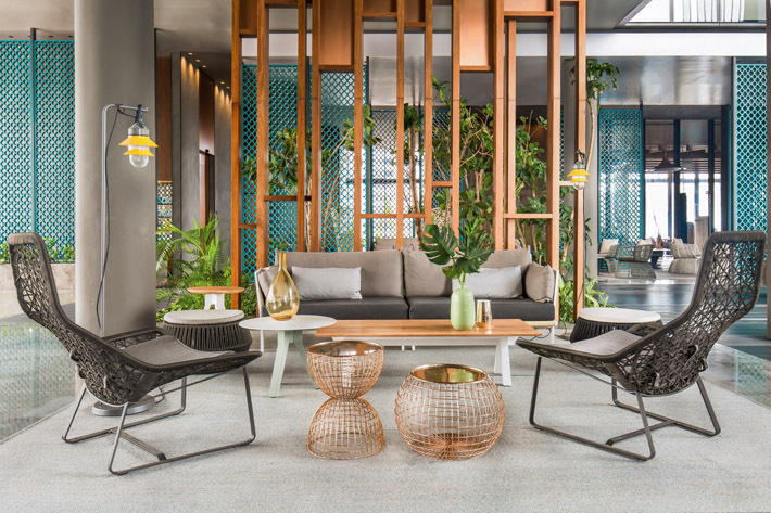 Oasia Hotel designed by Patricia Urquiola in Singapore (2016)