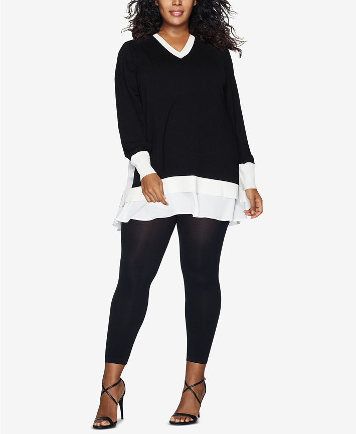 footless Haines tights from macys