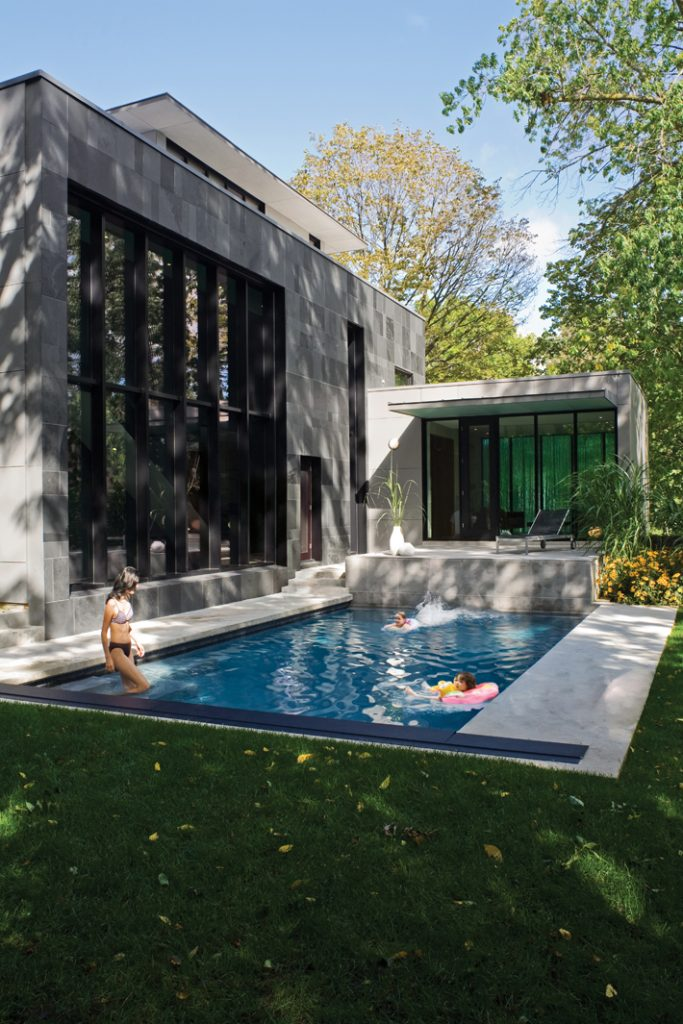 private residence with pool Design by Paul Raff Studio