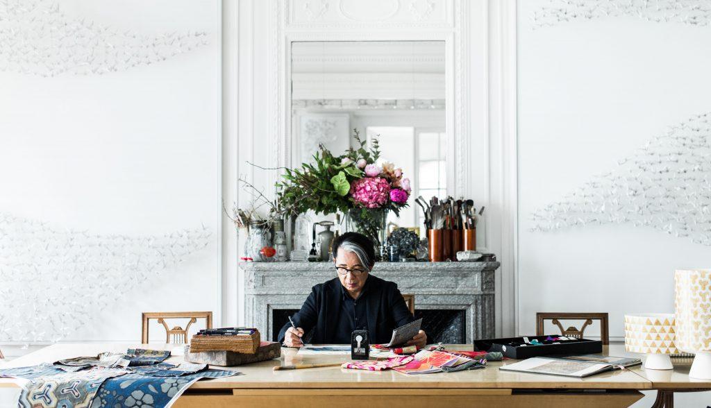 kenzo takada famous fashion designer