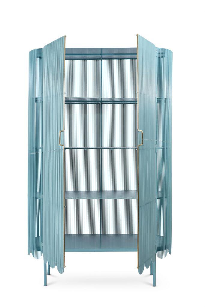 strings blue cabinet by nika zupanc for scarlet splendour