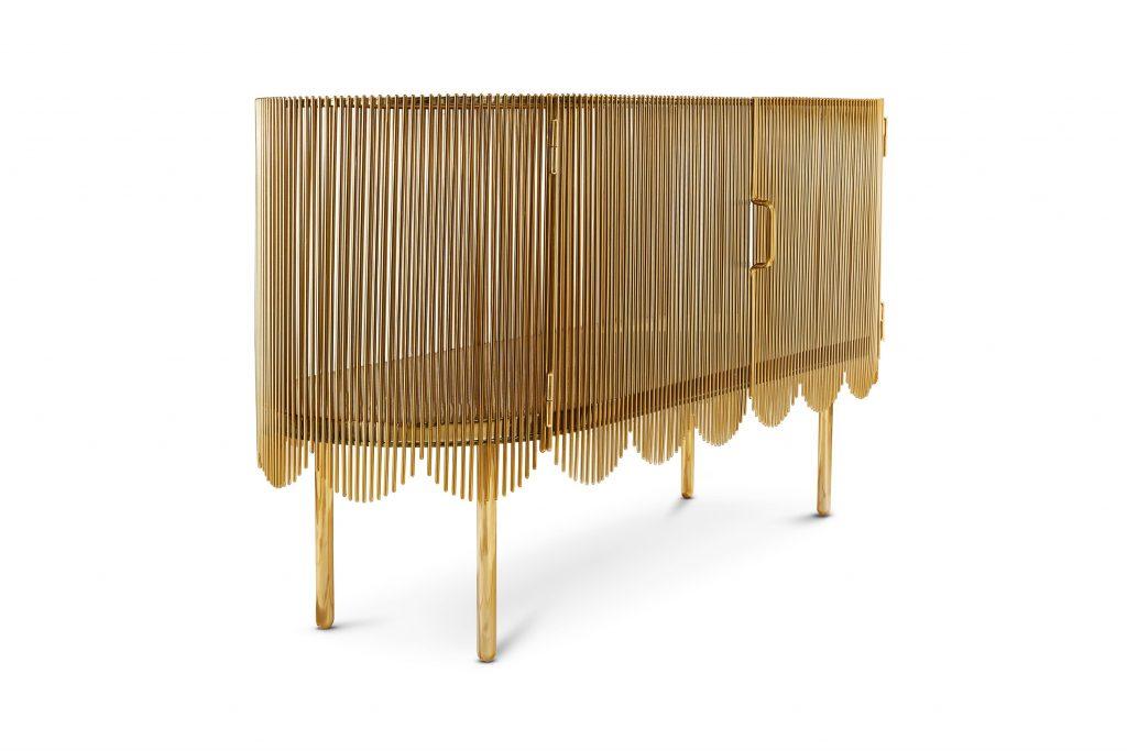 gold strings credenza by nika zupanc for scarlet splendour