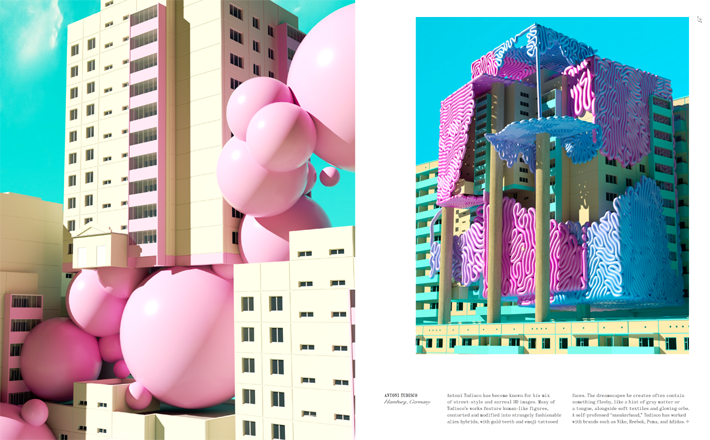 Antoni Tudisco in dreamscapes & artificial architecture book