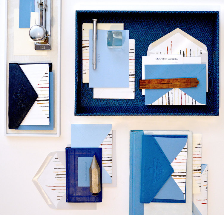 luxury Stationary design by FORM Design Studio for Dempsey & Carroll