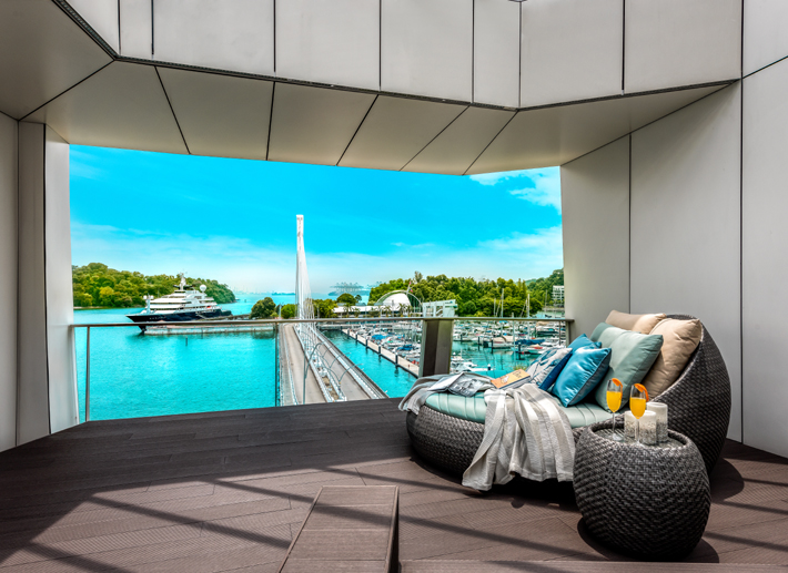corals at keppel bay penthouse by prestige global designs