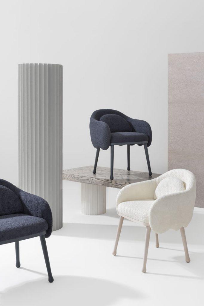 designer home decor Corolla upholstery collection by crisitina celestino for billianai