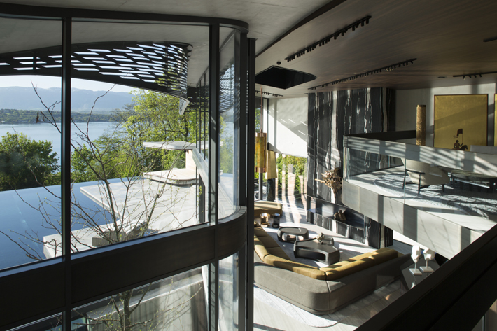 modern architecture Design by Thierry Lemaire
