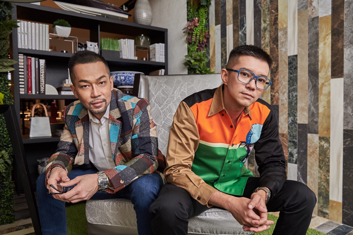 Michael Ong & Jeremy Tay founders of singapore design studio prestige global designs