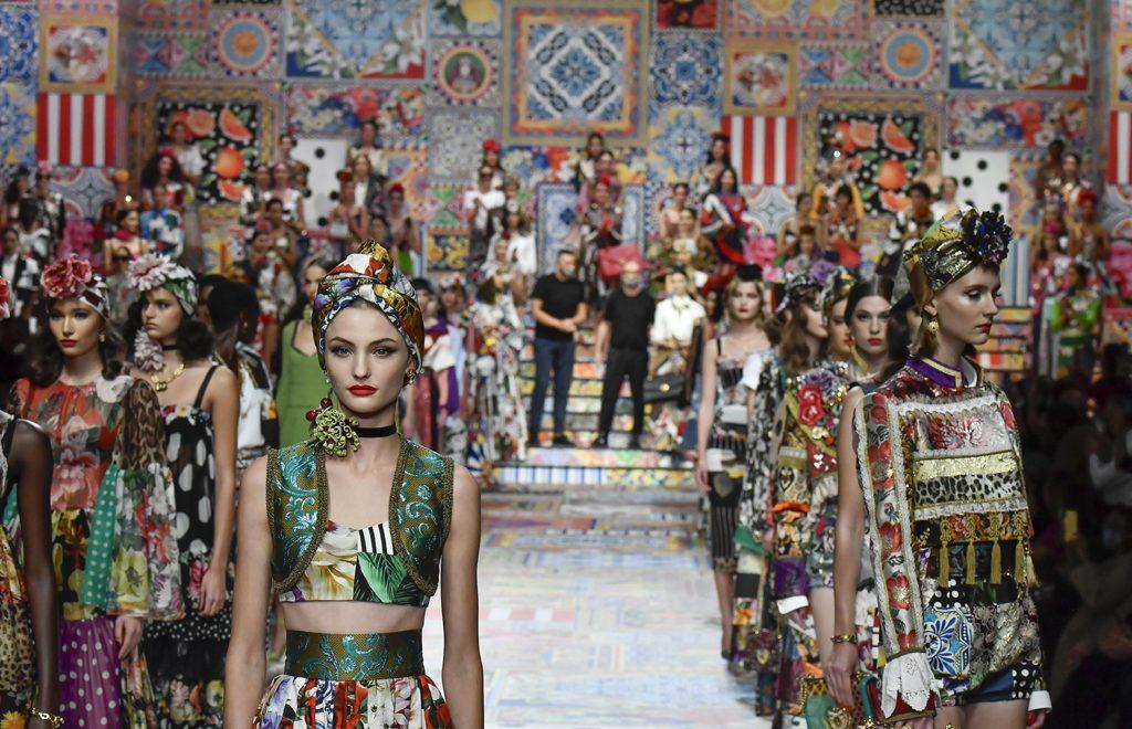 runway looks ss21 - dolce & gabanna milan fashion week