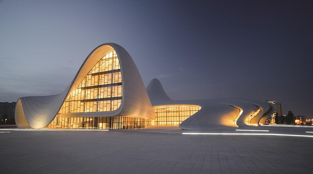 Heydar-Aliyev-Centre-Zaha-Hadid-Wikimedia