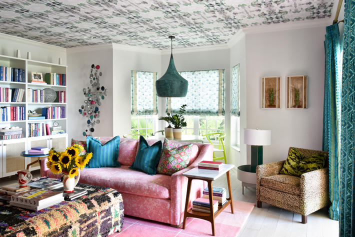 Nina Grauer - Dekay & Tate Interiors - K Hayden Rafferty Ocean Ridge Living Room Detail