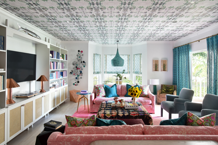 Ocean Ridge, FL residence designed by Nina Grauer, Dekay & Tate Interiors