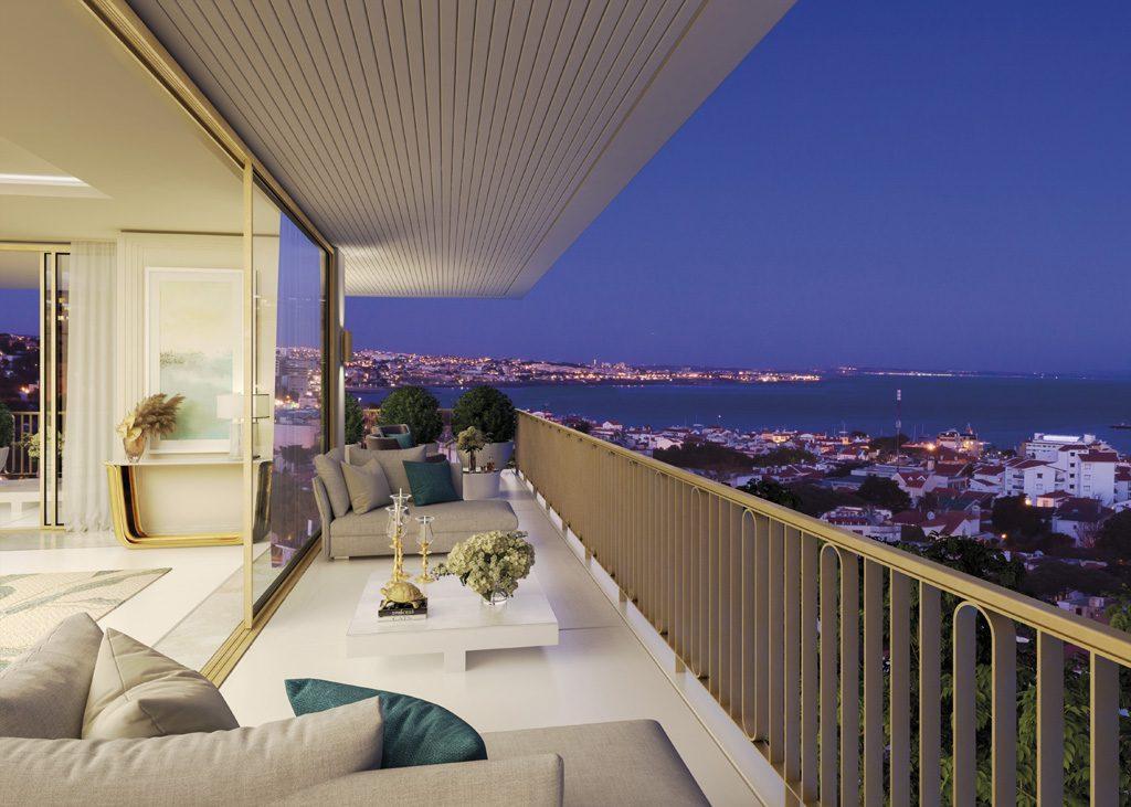 A penthouse veranda at Legacy