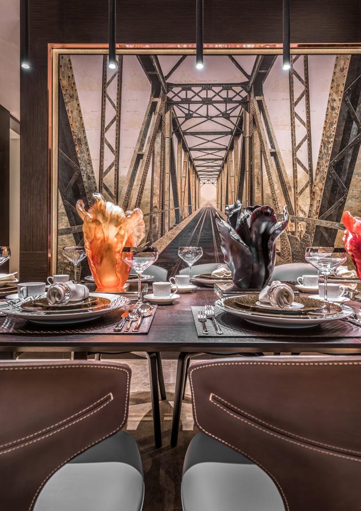dining room design by prestige global designs