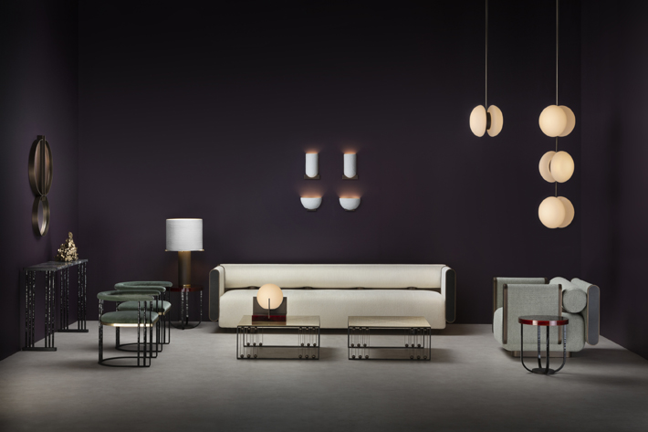 Metamorphosis, a collaboration between Humbert & Poyet and historic iron maker and design curator Maison Pouenat