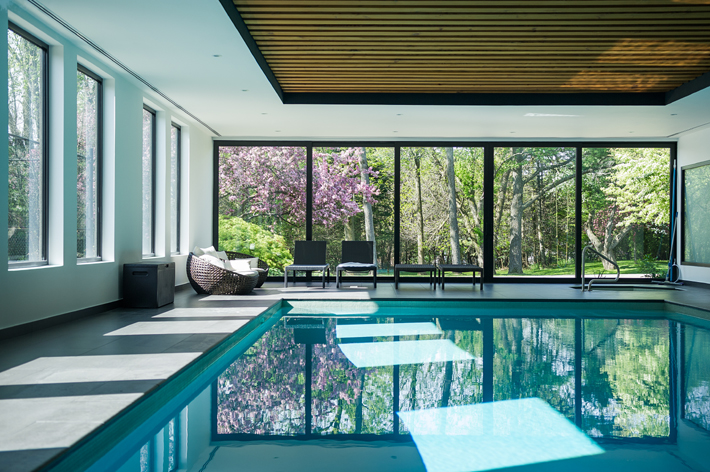 pool garden by paul raff wellness living at home design
