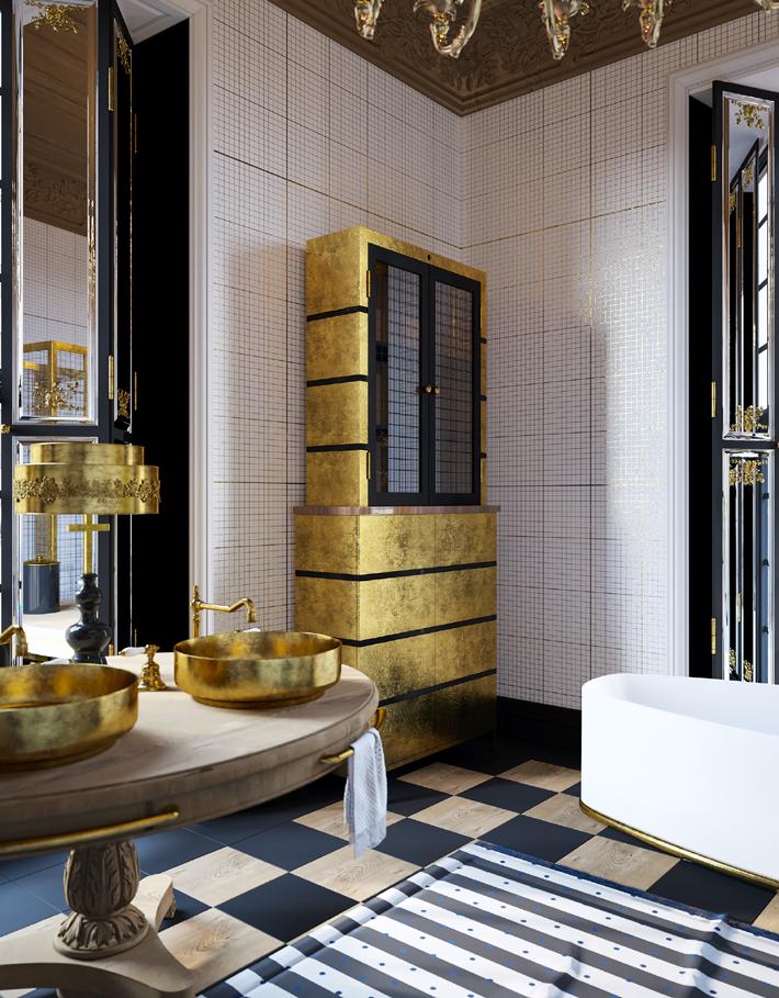 luxurious bespoke bathroom design