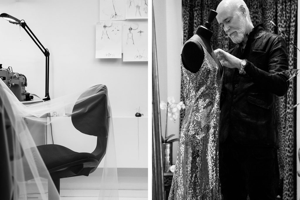 couture Swedish fashion designer lars wallin