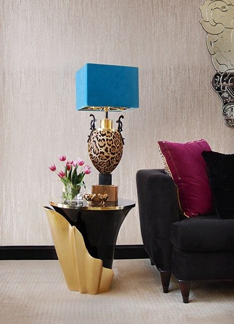 designer home decor Yasmine Side Table by KOKET