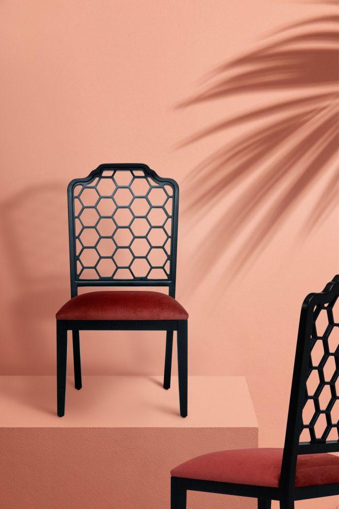 designer home decor Xangai Dining Chair by KK by KOKET